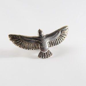 Jewelry - Southwestern Flying Bird Ring 6.75